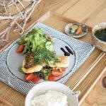 みやび鯛のソテー 夏野菜のマリネソース