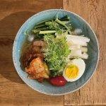 煮干しダシの特製冷麺(一汁一飯)